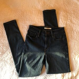 LEVIs 721 High-rise Skinny Jeans W28 L30